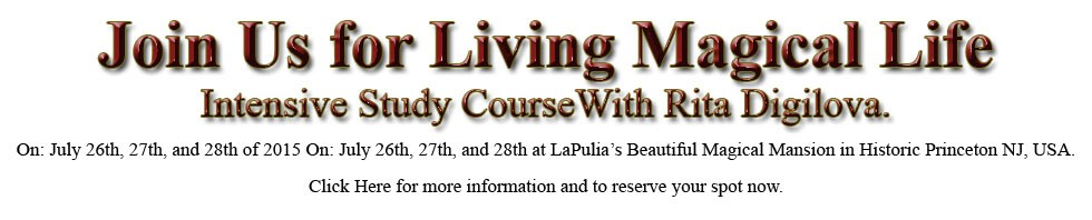 LIVING MAGICAL LIFE - Intensive Study Course.