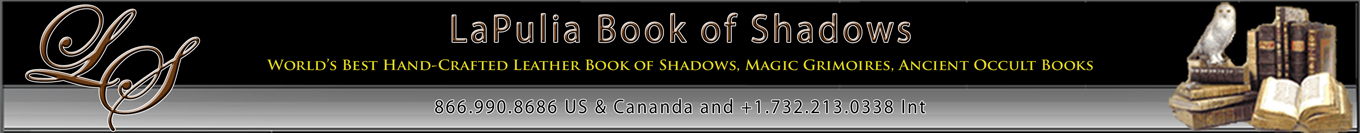 LaPulia Book of Shadows - The Best Leather Bound Books in the World