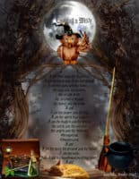 Evoking a male witch - magick spell