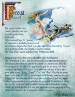 Goddess Freya information page 3