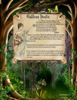 Goddess Hestia information spell page 1