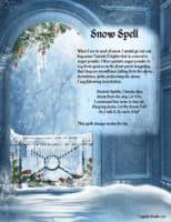 Snow magick Spell