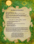 Sunday Correspondence magick information spell page