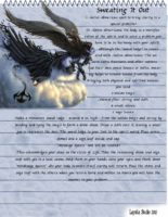Sweating it out - magick spell page