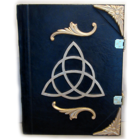 Golden Triquetra Book of Shadows