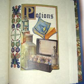Potions Formulary Magic Grimoire