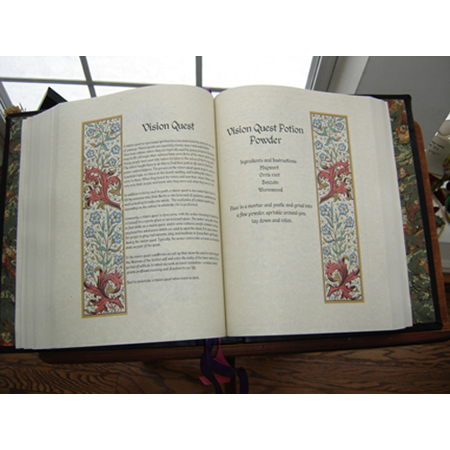 Original Wiccan Book of Shadows Content