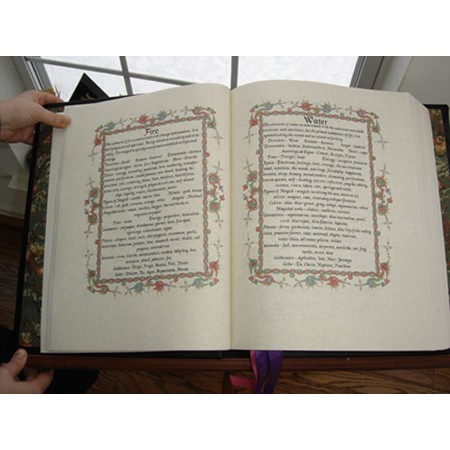 Original Wiccan Book of Shadows Content Pages
