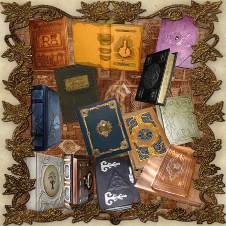 Custom Book of Shadows Bookbinding