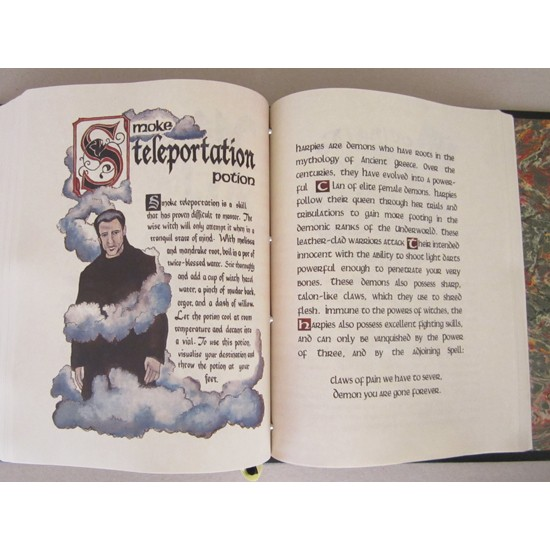 Charmed Book of Shadows - Pages