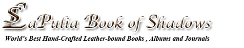 LaPulia Book of Shadows Logo