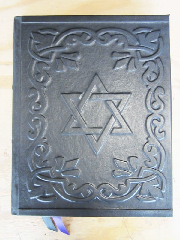 Custom Leather Book Of Shadows