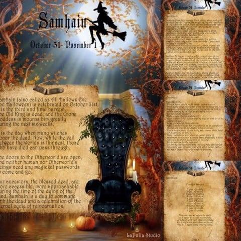 Happy Samhain - Halloween 2016