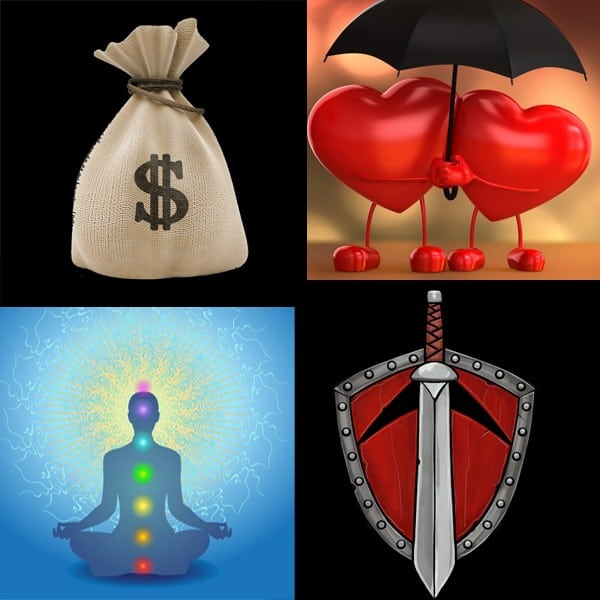 Money, Love, Healing & Protection