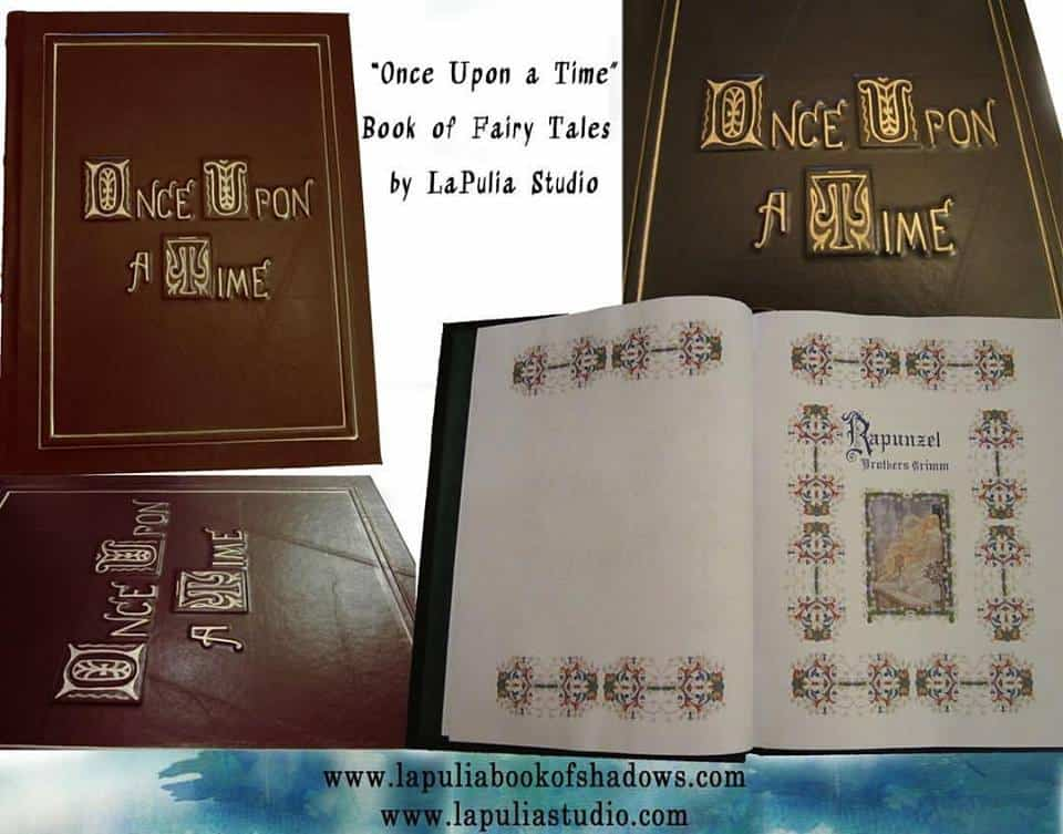 Once Upon a Time - Book of Fairy Tales - LaPulia Book of ... Fairy Tale Book Once Upon A Time