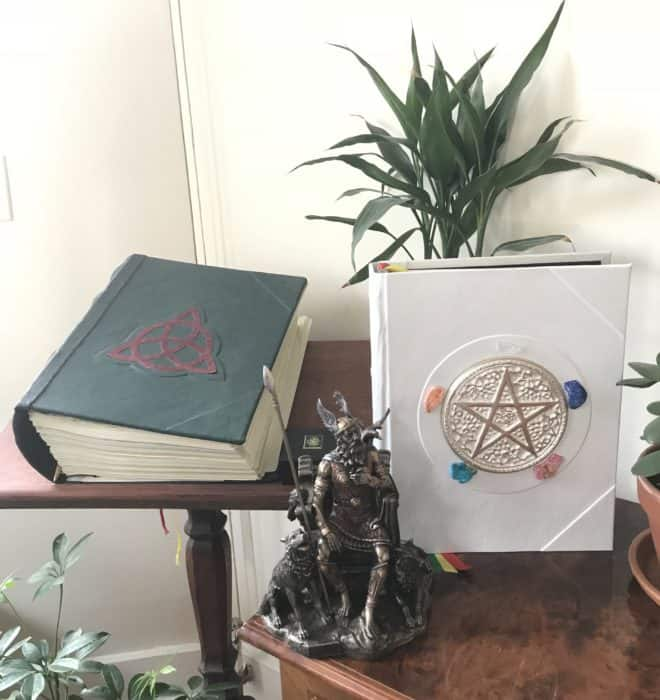 Elemental Magic Wiccan Witchcraft Book of Shadows